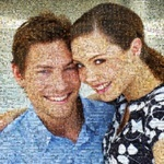 A picture mosaic is an ideal gift for a photographer.